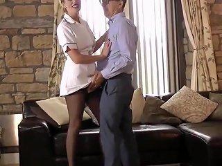 Stockinged Nurse Strokes Hdzog Free Xxx Hd High Quality Sex Tube