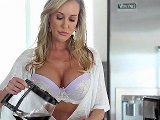 Busty Mom Enjoys Morning Fuck