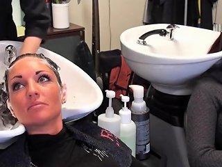 Salon Backwards Shampoo 2 Txxx Com
