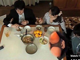Japanese Milf And Stepson Taboo