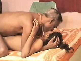 Barabanki Few Aged Guys With Youthful Indian Babe