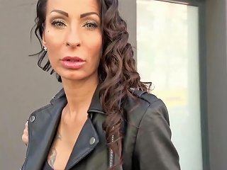 German Scout First Time Anal For Milf At Street Casting