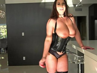 Angela White's Asshole Will Never Be The Same