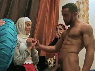 Sophia Leone Arab Bachelorette Party Turns Into Hot Orgy
