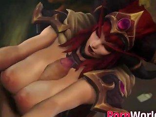 Video Game Girlfriends Compilation Of 3d Fucked Scenes