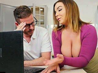 Kinky Dude Wants To Fuck His Busty Neighbor Natasha Nice Right In The Kitchen