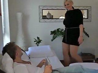 German Pantyhose MILF Fucking
