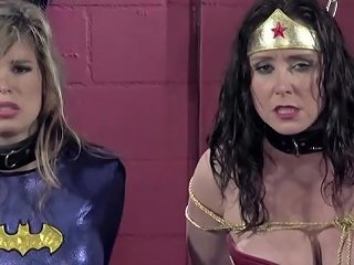Christina Carters And Candle Boxxx Babes In Bondage In Bdsm Cosplay