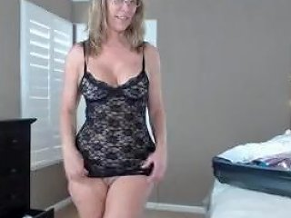 Trying On Lingerie For Step Son