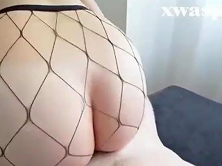 Naughty Korean MILF Loves White Cock Does Doggy Style And Eats Cum