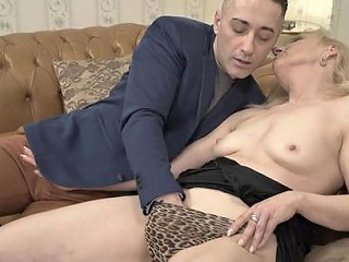 Mature Blonde Granny Nanney Rides Dick With Her Saggy Old Any Porn