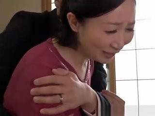 Japanese Mom Gets Penetrated By A Business Man Who Wants Her